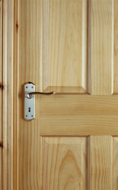 4 Panel Radiata Pine Door (40mm)   Internal Doors   Pine Doors