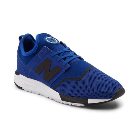 new balance athletic shoes mens new balance 247 athletic shoe blue 401566