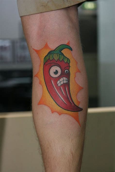 tattoo extreme plantas vs zombies chili pepper tattoo plants vs zombies chili pepper