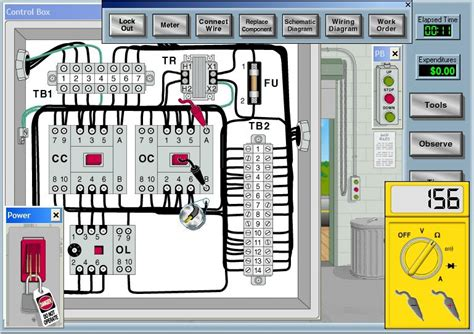 electrical motor control circuits  review