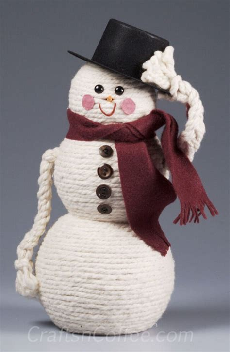 how to make a cheap snow blancket 25 diy snowman craft ideas tutorials