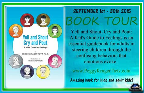 cry a s guide to feeling books up your book presents yell and shout cry and pout a