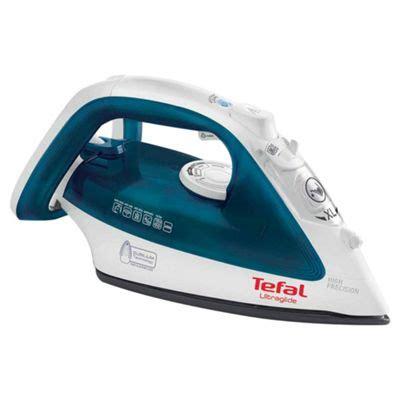 buy tefal ultraglide fv4044 steam iron blue white from our irons range tesco