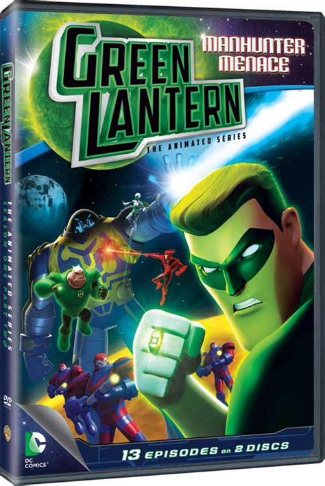 Tas Set 3 In 1 Green Series Jj 169990 green lantern the animated series dvd news announcement for green lantern the animated series