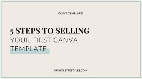 Canva Take Yoru Receipt Template by 5 Steps To Selling Your Canva Template