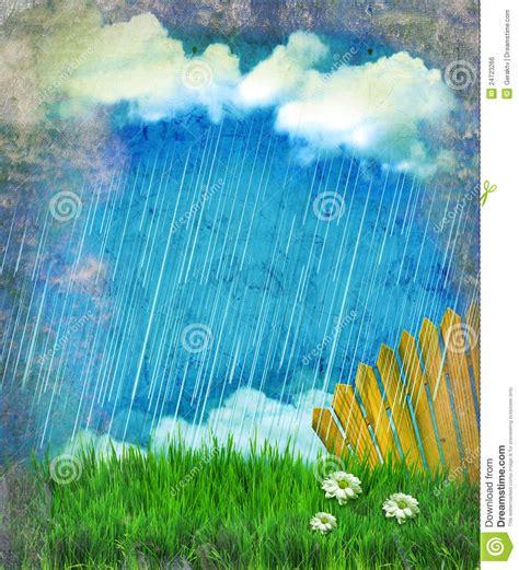 imagenes de otoño lloviendo chovendo a paisagem da natureza vintage ilustra 231 227 o stock