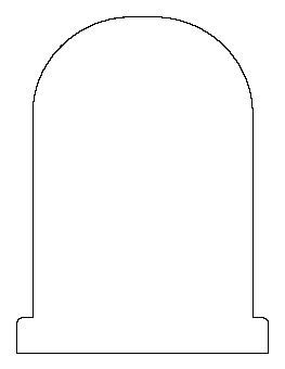 1000 Images About Templates On Pinterest Appliques Gingerbread Man And Tree Templates Free Gravestone Template