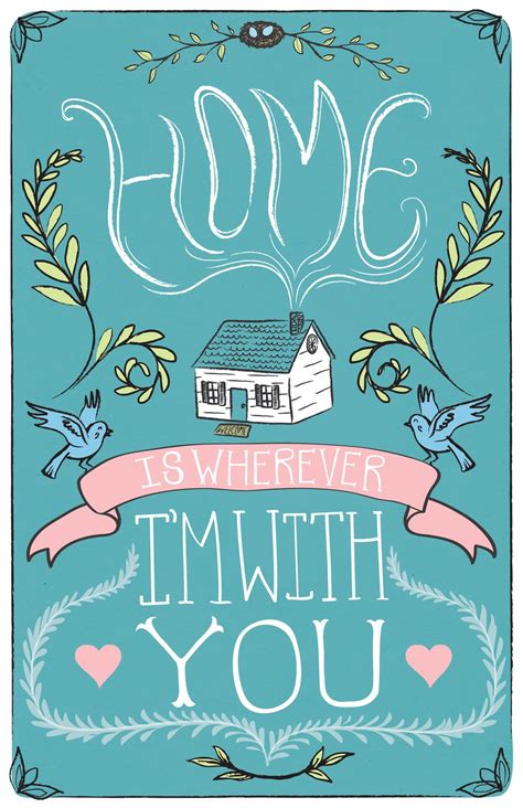 home is wherever i m with you rowan january