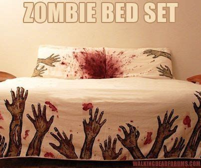 Zombie Bed Set Walking Dead Pinterest Walking Dead Bed Set