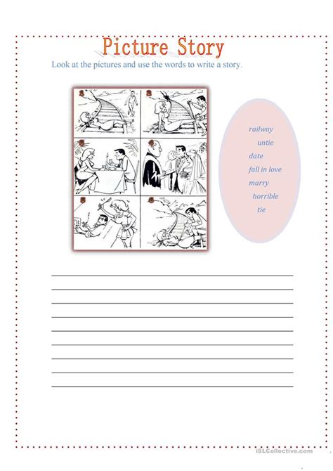 Esl Picture Stories Worksheets review past simple worksheet free esl printable