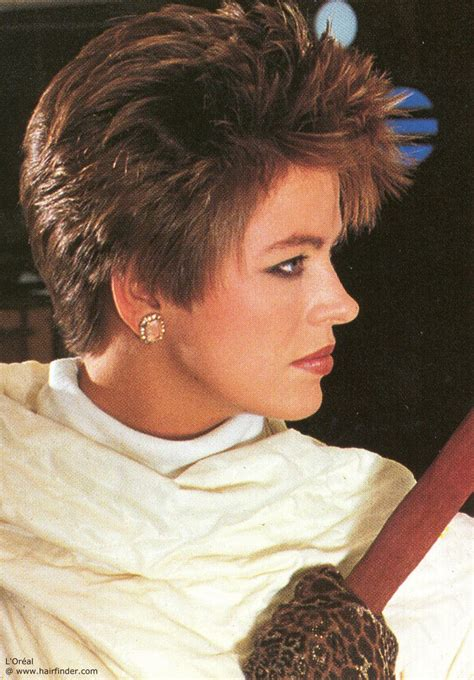 the 80 s wedge hair style the unique 80 s hairstyles stylewe blog