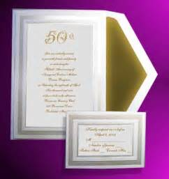Modern 50th wedding anniversary invitations 50th wedding anniversary