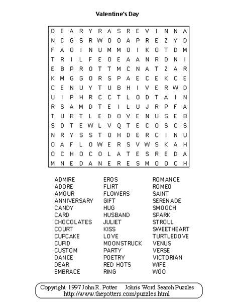 valentines gifts for word search puzzle book as a valentines day gift for valentines day gifts for or books valentines day word search free valentines day