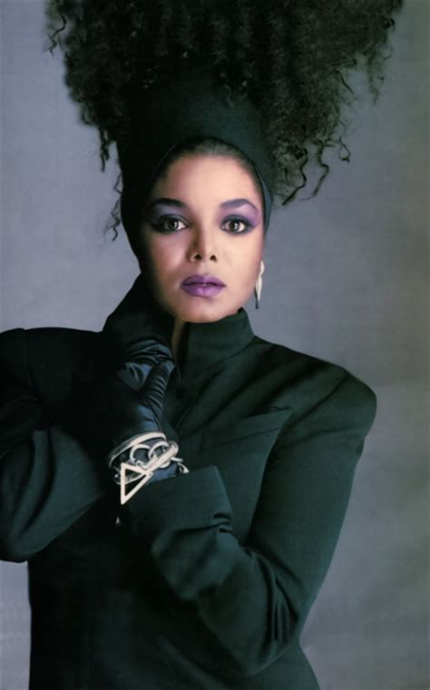 janet jackson long layered hairstyles from the 80s and 90s just eighties fashion