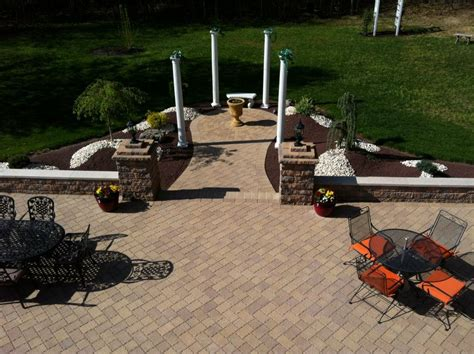 paver patio nj paver patio nj new jersey masonry contractor