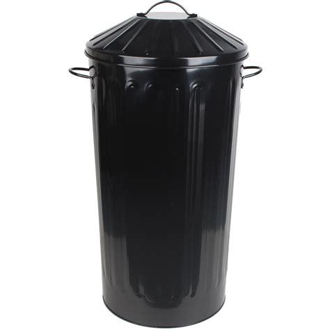 Dustbin Style Kitchen Bin by Metal 50 Litre Home Kitchen Colour Recycle Dustbin Rubbish