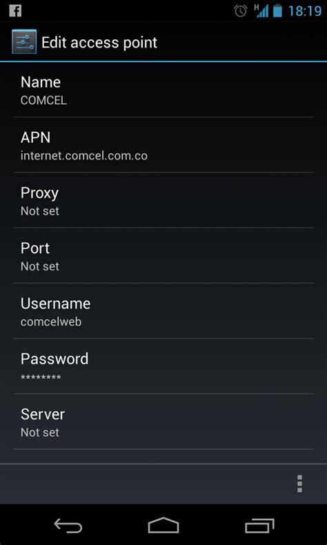 tutorial para internet gratis en android colombia configuracion apn claro colombia 2014