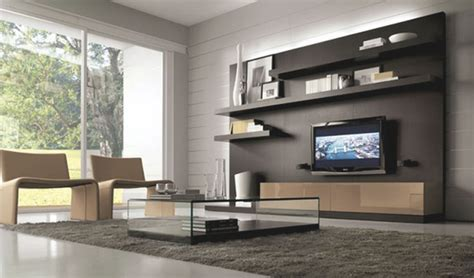 ideas lovely modern living room tv wall awesome decors