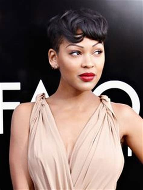 meagan good tattoo anchorman 2 s meagan on 80s hair eyebrow tattoos