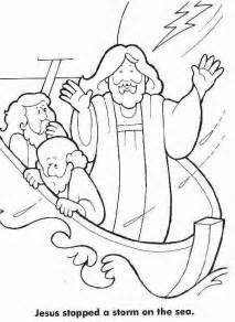 jesus calms the coloring page jesus calms the coloring page coloring home