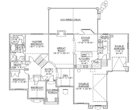 Rambler Home Plans by Rambler House Plans With Basements Professional House
