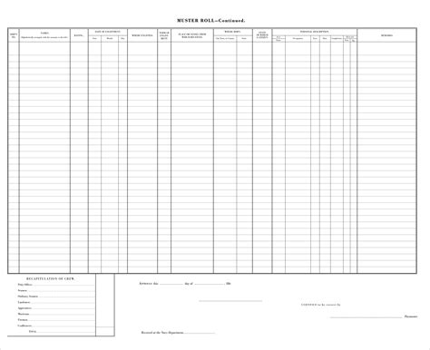 Muster Navy muster sheet related keywords suggestions muster sheet