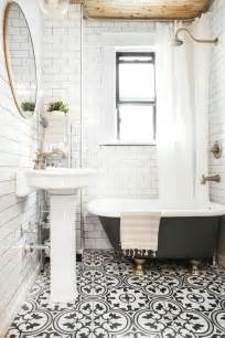 black and white tile in bathroom 1000 ideas about black white bathrooms on