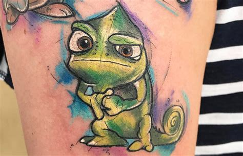 brilliant tattoos from disney s tangled