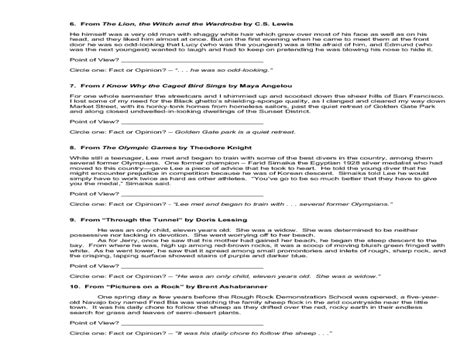 Fact And Opinion Worksheets 8th Grade by Fact And Opinion Worksheets 5th Grade Worksheets