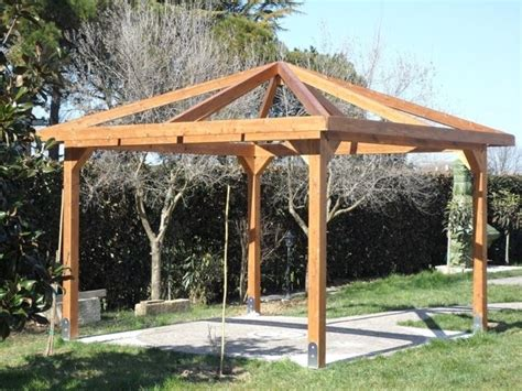 costruire gazebo gazebo fai da te arredamento per giardino gazebo fai