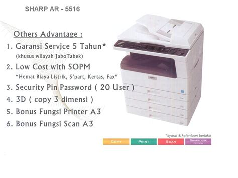 Mesin Fotocopy Sharp Ar 5516 mesin fotocopy handal dan berkualitas sharp ar 5516 5520