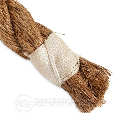 end whipping for 3 strand rope