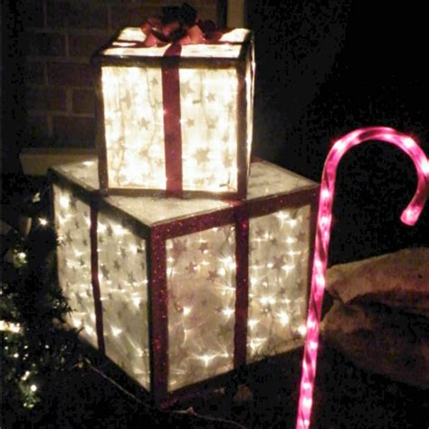 home made outdoor christmas decorations diy outdoor presents pictures photos and images for