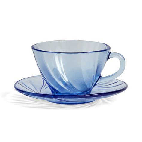 Coffee Cup With Saucer duralex coffee cup with saucer by hay