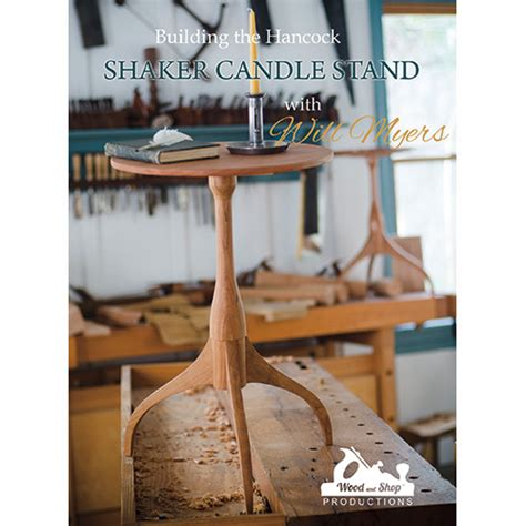 building  hancock shaker candle stand