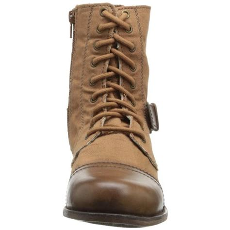skechers combat boots skechers 9862 womens chai coated leather trim side zip