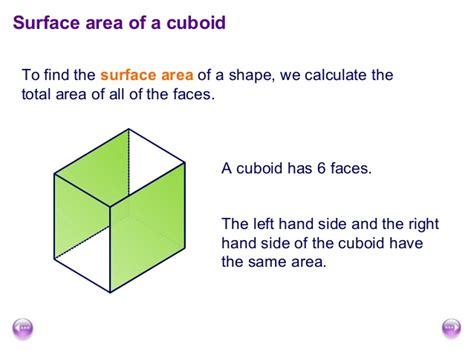 Its All About The Volume by Surface Area And Volume Of Cuboids