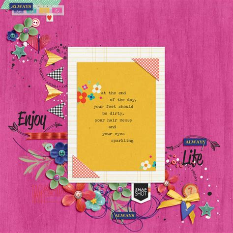 farewell scrapbook template digital scrapbook template farewell to summer dressed up