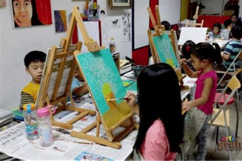 home depot paint lessons leisure painting workshop for ages 4 to 12