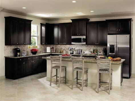 masterbrand kitchen cabinets aristokraft wentworth black kitchen cabinets kitchen