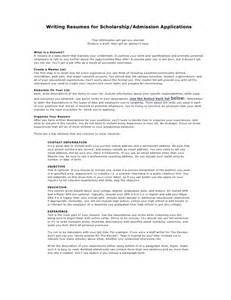Resume Volunteer academic resume