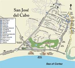 San Jose Del Cabo Map by Cabo Maps
