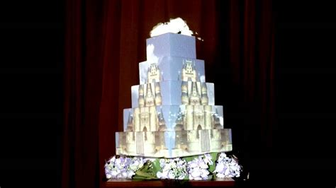 Wedding Animation Philippines by Projection Mapping To A Wedding Cake