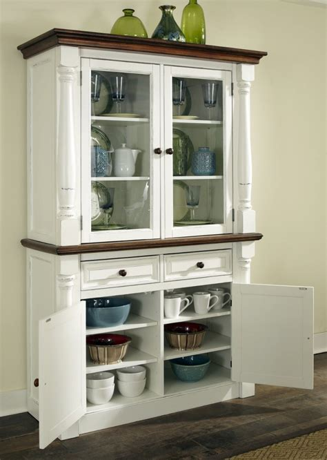 kitchen hutch cabinets in little kitchens designs ideas