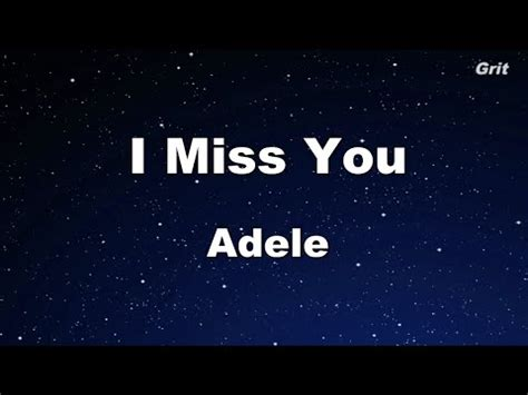 download mp3 adele miss you i miss you adele karaoke no guide melody instrumental