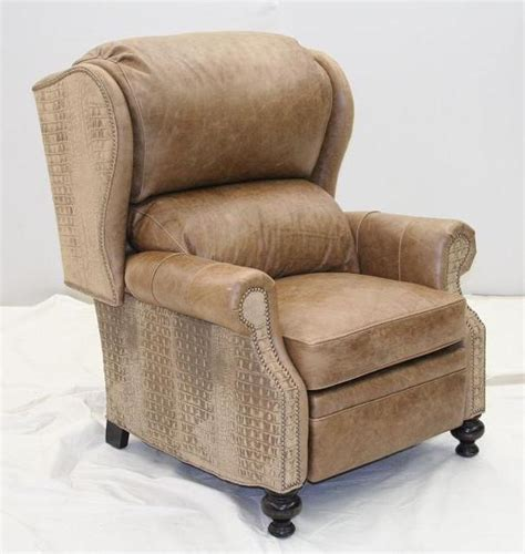 gator leather sofa gator leather recliner unique high style furniture