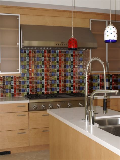 colorful kitchen backsplash 36 colorful and original kitchen backsplash ideas digsdigs