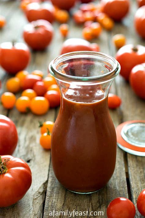 Homemade Ketchup Homemade Ketchup Recipe Fresh Tomatoes