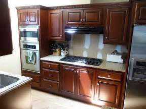 Mahogany Kitchen Cabinets Refinished Mahogany Kitchen Hausslers Kitchens Cabinet Refinishing And Cabinet Refacing