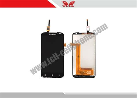 Lcd Ts Lenovo S820 Black 1 lcd screen touch screen digitizer assembly for lenovo s820